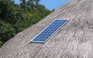 house roof, yachted, solar panel