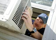 air conditioner fixing